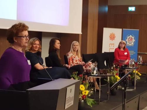 Kansainvälinen symposiumi ''Women from Worldover'' Tallinnassa