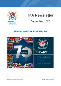 IPA kansainvälinen uutiskirje 12.2020