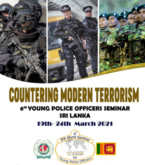 Hae: Young Police Officers seminaari Sri Lankassa!